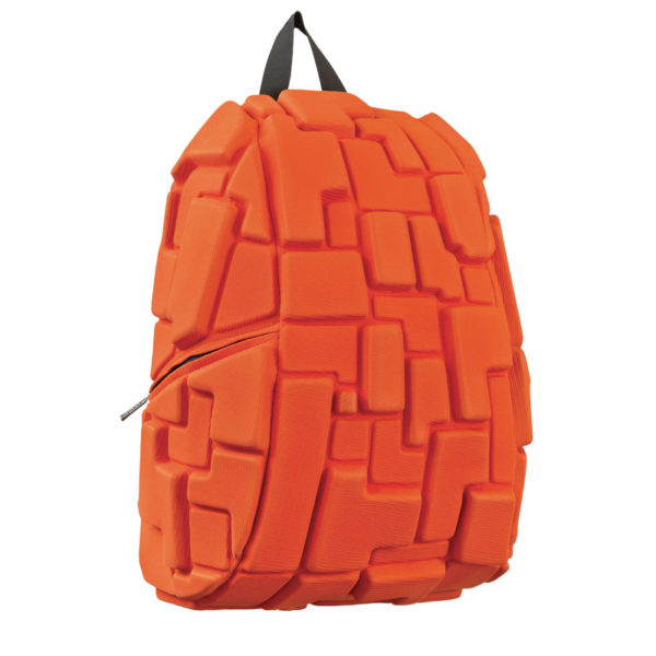 Orange Backpack - BLOK Colors Pass the OJ
