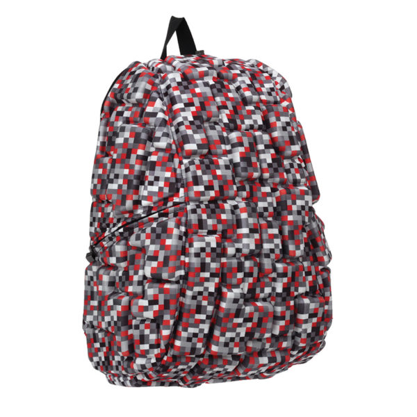 Multicolor Pixel Backpack - BLOK Surfaces Code Red