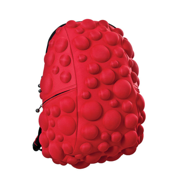 Red Bubbles Color Backpack