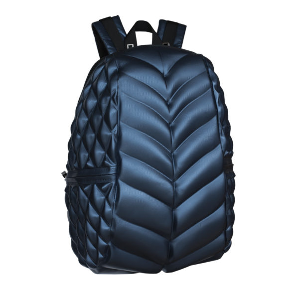 Deep Metallic Blue Bag/Backpack