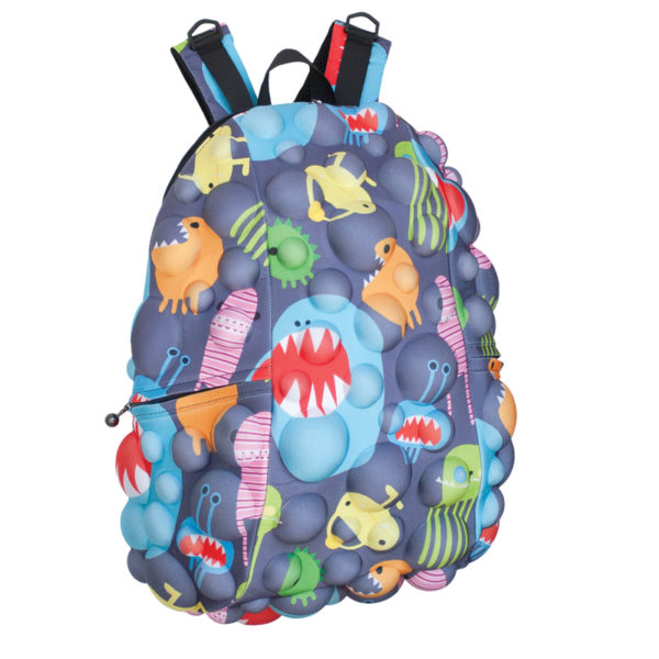 Bubble Fun 3D Monster Backpack - Monster Grey