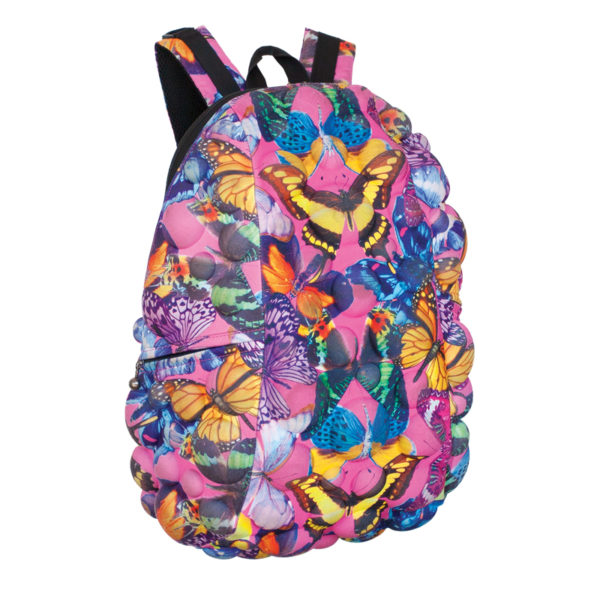 Bubble Butterfly Pattern Backpack - Fly Fly Away