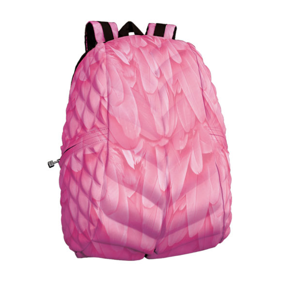 Pink Flamingo Print Bag/Backpack