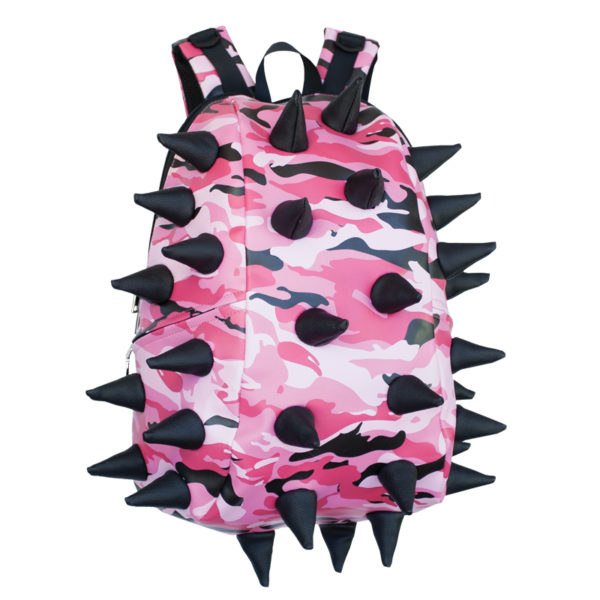 Pink Camo Spiketus Rex Surfaces Backpack (Sneak in Pink)